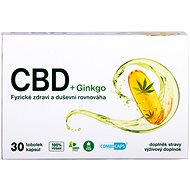 CBD + Ginkgo 30kapslí - Ginkgo biloba
