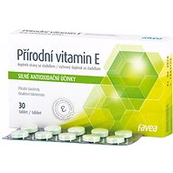 Přírodní vitamín E 30tbl. - Vitamín E