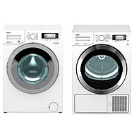 BEKO DPY 8506 GXB1 + BEKO WMY 91443 LB1 - Washer and dryer set