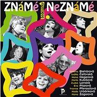 """Various: Známé / Neznámé 1. """"šedesátky"""" - CD - Hudební CD"""