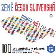 Various: Země československá, domov můj (5x CD) - CD - Hudební CD