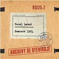 Dobeš Pavel: Koncert 1984 - Archivy se otevírají - CD - Hudební CD