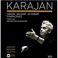 Karajan Herbert: Herbert von Karajan Collection - Haydn, Mozart, Schubert Symphonies 1970-1981 (8x C - Hudební CD