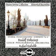 Czech Philharmonic Orchestra: Antonín Dvořák - Piano Concerto in G minor (Prague Spring Collection)  - Hudební CD