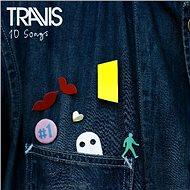 Travis: 10 Songs (Red And Blue Coloured Vinyl) (2x LP) - LP - LP vinyl