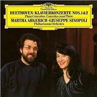 Argerich Martha: Ludwig van Beethoven - Piano Concertos Nos. 1 & 2 (2x LP) - LP - LP vinyl
