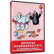 Krtkova dobrodružství 5 - DVD - Film na DVD