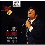 Becaud Gilbert: Milestones of a Legend (10x CD) - CD - Hudební CD