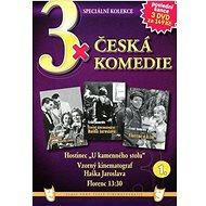 3x Česká komedie 1: Hostinec U kamenného stolu, Vzorný kinematograf Haška Jarosl., Florenc 13.30 /pa - Film na DVD