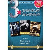 3x Jaroslav Marvan : 13. revír, Nikdo nic neví, Železný dědek /papírové pošetky/ (3DVD) - DVD - Film na DVD