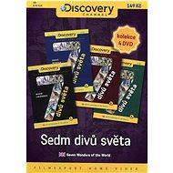 Sedm divů světa /papírové pošetky/ (4DVD) - DVD - Film na DVD