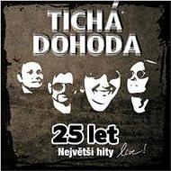 Tichá dohoda: 25 let: Největší hity Live - CD - Hudební CD