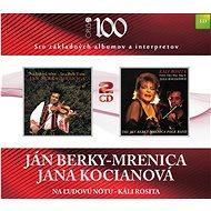 Kocianova Jana, Mrenica Jan Berky: Na ľudovej notu, Kali Rosita (2x CD) - CD - Music CD