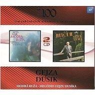 Gejza Dusík: Modrá ruža/Melódie Gejzu Dusíka (2x CD) - CD - Hudební CD