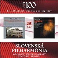 Slovenská Filharmonia: Symphony No 25 / Requiem (2x CD) - CD - Hudební CD