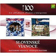 Slovenské Vianoce: Pastierske Vianoce / Vstávajte, pastieri (2x CD) - CD - Hudební CD