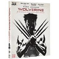Film na Blu-ray The Wolverine 3D+2D (3 disky: 2D+3D film + 2D prodloužená verze) - Blu-ray - Film na Blu-ray