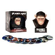 Planeta opic - Sběratelská CÉZAROVA KOLEKCE (8BD) - Blu-ray - Film na Blu-ray