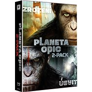 Kolekce Planeta opic: Úsvit planety opic + Zrození planety opic (2BD) - Blu-ray - Film na Blu-ray