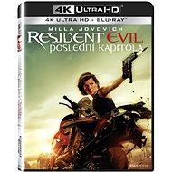 Resident Evil: Poslední kapitola (2 disky) - Blu-ray + 4K Ultra HD - Film na Blu-ray