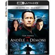 Andělé a démoni (2 disky) - Blu-ray + 4K Ultra HD - Film na Blu-ray
