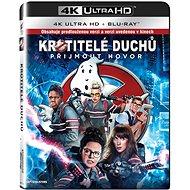 Krotitelé duchů (2016) (2 disky) - Blu-ray + 4K Ultra HD - Film na Blu-ray