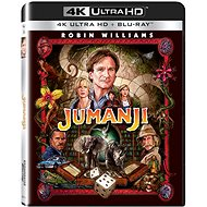 Jumanji (2 discs) - Blu-ray + 4K Ultra HD - Blu-ray Movies