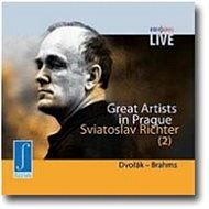 Richter Svjatoslav: Great Artists in Prague - CD - Hudební CD