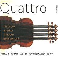František Novotný - housle, a: Telemann, Mozart, Lachner, Kupkovič, Wagner, Gemrot: Quattro - Hudební CD