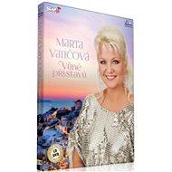 Marta Vančová: Vůně Přístavů (CD + DVD) - Hudební CD