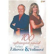 Žákovec Václav a Volínová Anna: 100 nejkrásnějších písniček (6x CD) - CD - Hudební CD