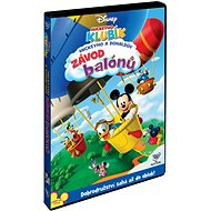 Film na DVD Mickeyho klubík: Mickeyho a Donaldův závod balónů - DVD