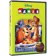 Lady a Tramp (Edice Disney mánie) - DVD - Film na DVD
