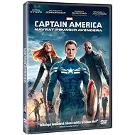 Captain America: Návrat prvního Avengera - DVD - Film na DVD