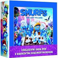 Smurfs 1-3 LUNCH BOX (3DVD + snack box) - DVD - DVD Movies