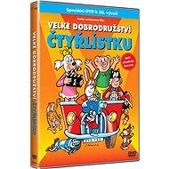 Film na DVD Velké dobrodružství Čtyřlístku - DVD