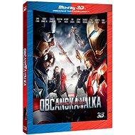 Captain America: Občanská válka 3D+2D (2 disky) - Blu-ray - Film na Blu-ray