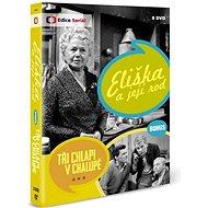 Eliška a její rod + Bonus: Tři chlapi v chalupě (8DVD) - DVD - Film na DVD