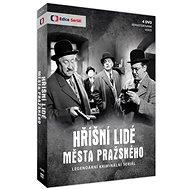 Hříšní lidé Města pražského (4DVD - remasterovaná verze) - DVD - Film na DVD