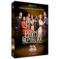 První republika - III. řada (4DVD) - DVD
