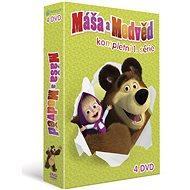 Máša a medvěd 1-4: Kolekce (4DVD) - DVD - Film na DVD