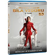 Hunger Games: Síla vzdoru 2. část 3D+2D (2 disky) - Blu-ray