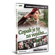 Copak je to za vojáka... - edice KLENOTY ČESKÉHO FILMU (remasterovaná verze) - DVD - Film na DVD