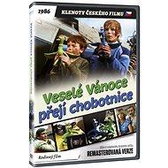 Veselé Vánoce přejí chobotnice - edice KLENOTY ČESKÉHO FILMU (remasterovaná verze) - DVD - Film na DVD
