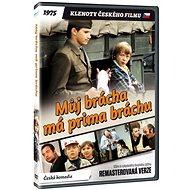 Můj brácha má prima bráchu - edice KLENOTY ČESKÉHO FILMU (remasterovaná verze) - DVD - Film na DVD