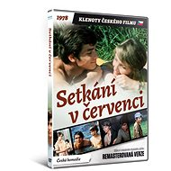 Setkání v červenci - edice KLENOTY ČESKÉHO FILMU (remasterovaná verze) - DVD - Film na DVD