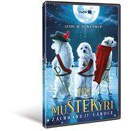 Tři muŠTĚKýři zachraňují Vánoce - DVD - Film na DVD