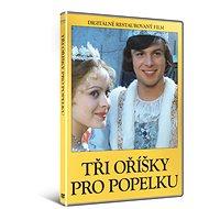 Tři oříšky pro Popelku (DIGITÁLNĚ RESTAUROVANÝ FILM) - DVD - Film na DVD
