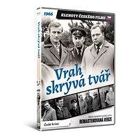 Vrah skrývá tvář - edice KLENOTY ČESKÉHO FILMU (remasterovaná verze) - DVD - Film na DVD
