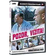 Pozor, vizita! - edice KLENOTY ČESKÉHO FILMU (remasterovaná verze) - DVD